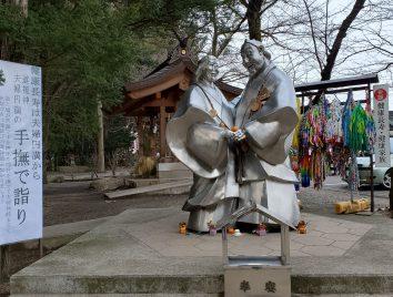 穂高神社の健康長寿道祖神です