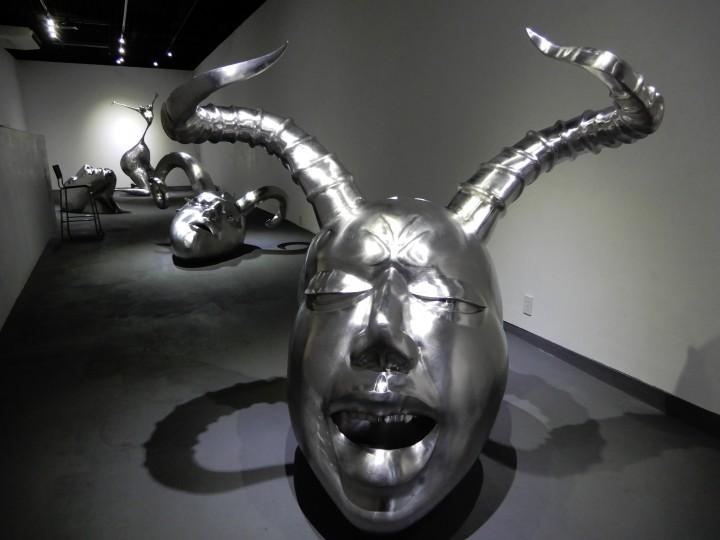 いりや画廊企画 中嶋大道 彫刻展(2018年)