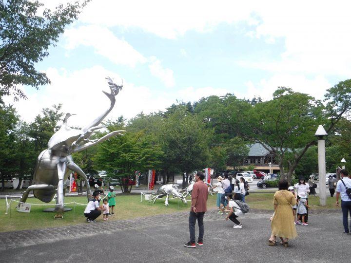 島根県立三瓶自然館展示の様子です